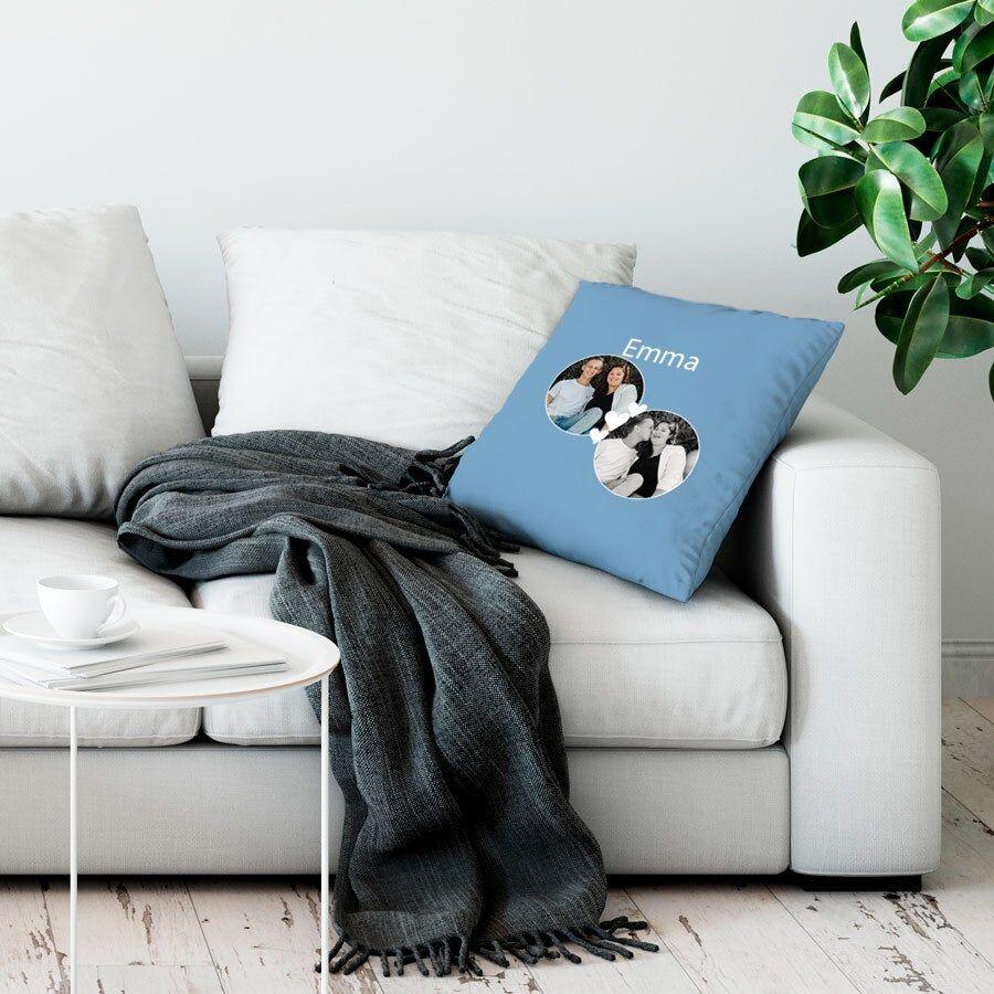 YourSurprise Cushion case - 50 x 60 cm - Light blue