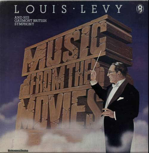 Louis Levy Music From The Movies 1977 UK vinyl LP SH258