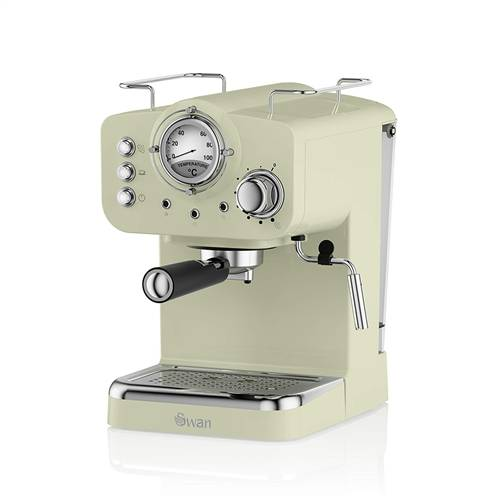 Swan Pump Espresso Coffee Machine - Green