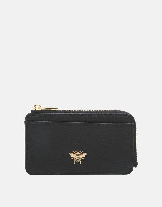 Joules Clothing Coin Purse & Card Holder - Black