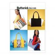 Butterick Accessories Sewing Pattern 6188 Fashion Bags