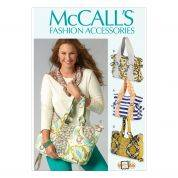 McCalls Accessories Sewing Pattern 6905 Fashion Shoulder Bags