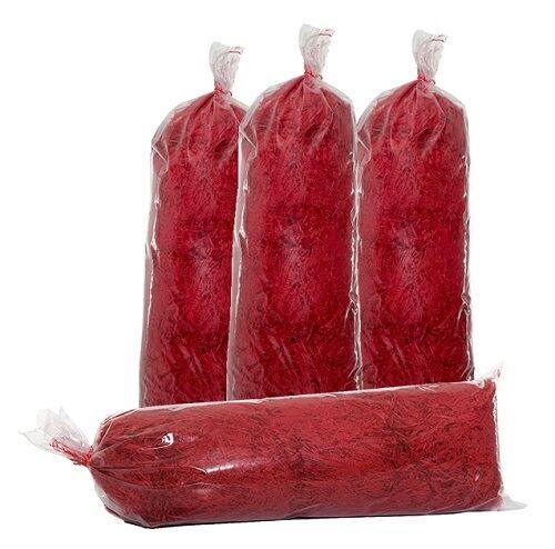 Red Shredded Tissue Paper - 8 Kilograms
