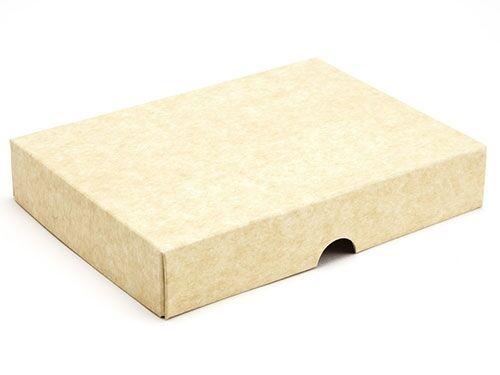159 x 112 x 32mm - Natural Kraft Gift Boxes - Lid - 25 Lids