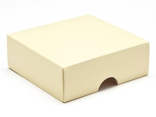 78 x 82 x 32mm - Cream Gift Boxes - Lid - 25 Lids