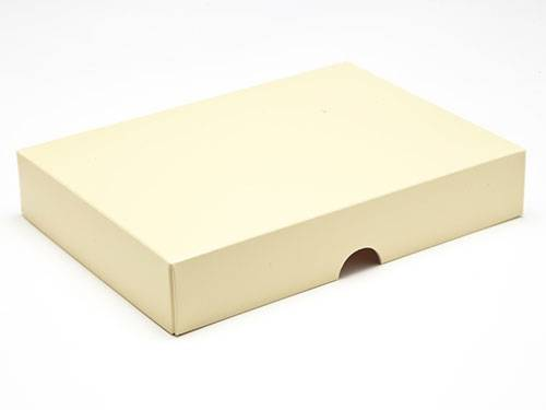 159 x 112 x 32mm - Cream Gift Boxes - Lid - 25 Lids