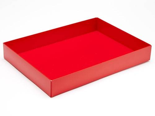 221 x 159 x 32mm - Red Gift Boxes - Base - 25 Bases