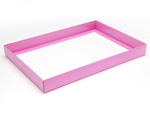 312 x 217 x 32mm - Pink Gift Boxes - Base - 10 Bases