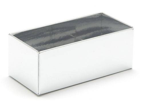 78 x 41 x 32mm - Silver Gift Boxes - Base - 25 Bases