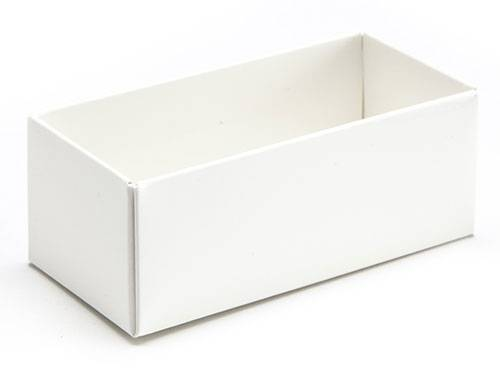 78 x 41 x 32mm - White Gift Boxes - Base - 25 Bases