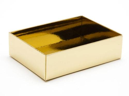 112 x 82 x 32mm - Gold Gift Boxes - Base - 25 Bases