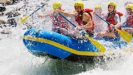 White Water Rafting in Northamptonshire