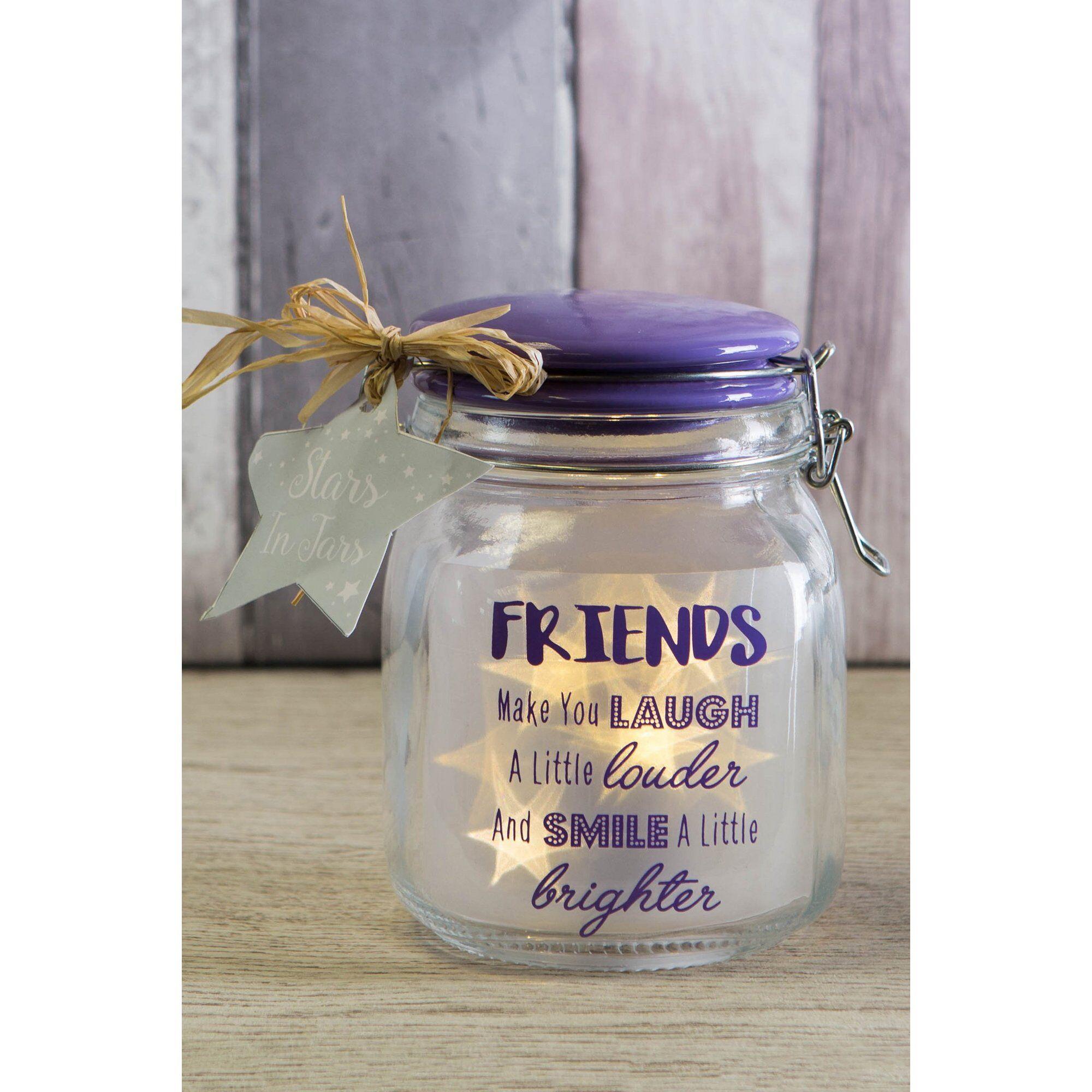 Studio Stars In Jars Friends Make You Laugh  - Clear