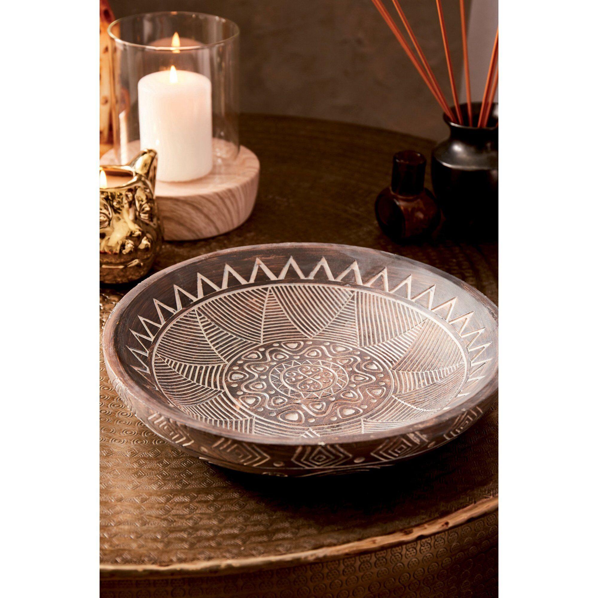 Joe Browns Decorative African Bowl  - Grey