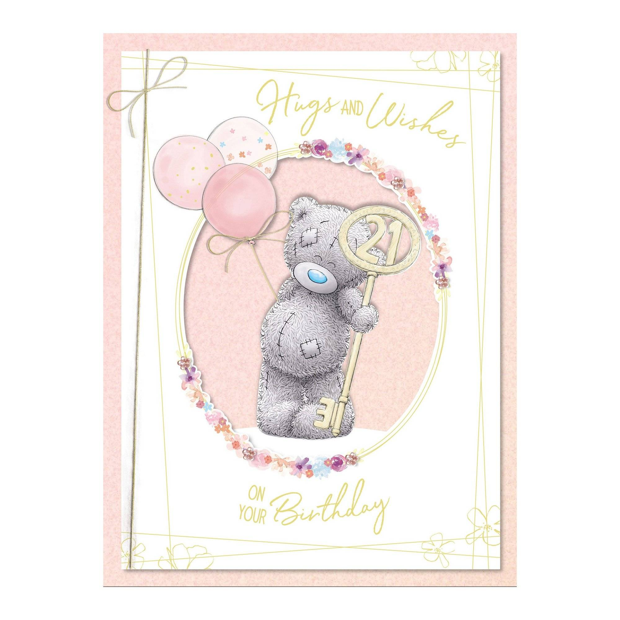 Me To You 21st Birthday Boxed Card  - Multi