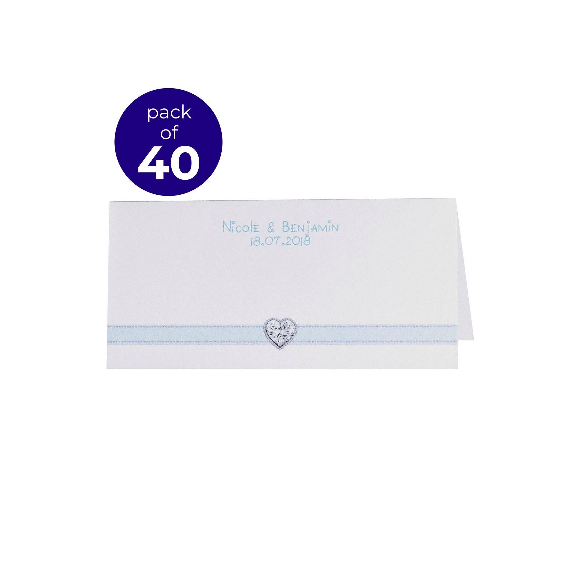 Me To You 40 Me To You Personalised Place Cards  - Multi