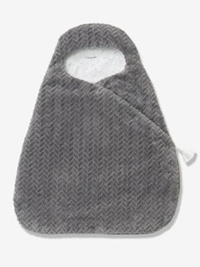 VERTBAUDET Baby Nest Knitted Effect grey dark solid