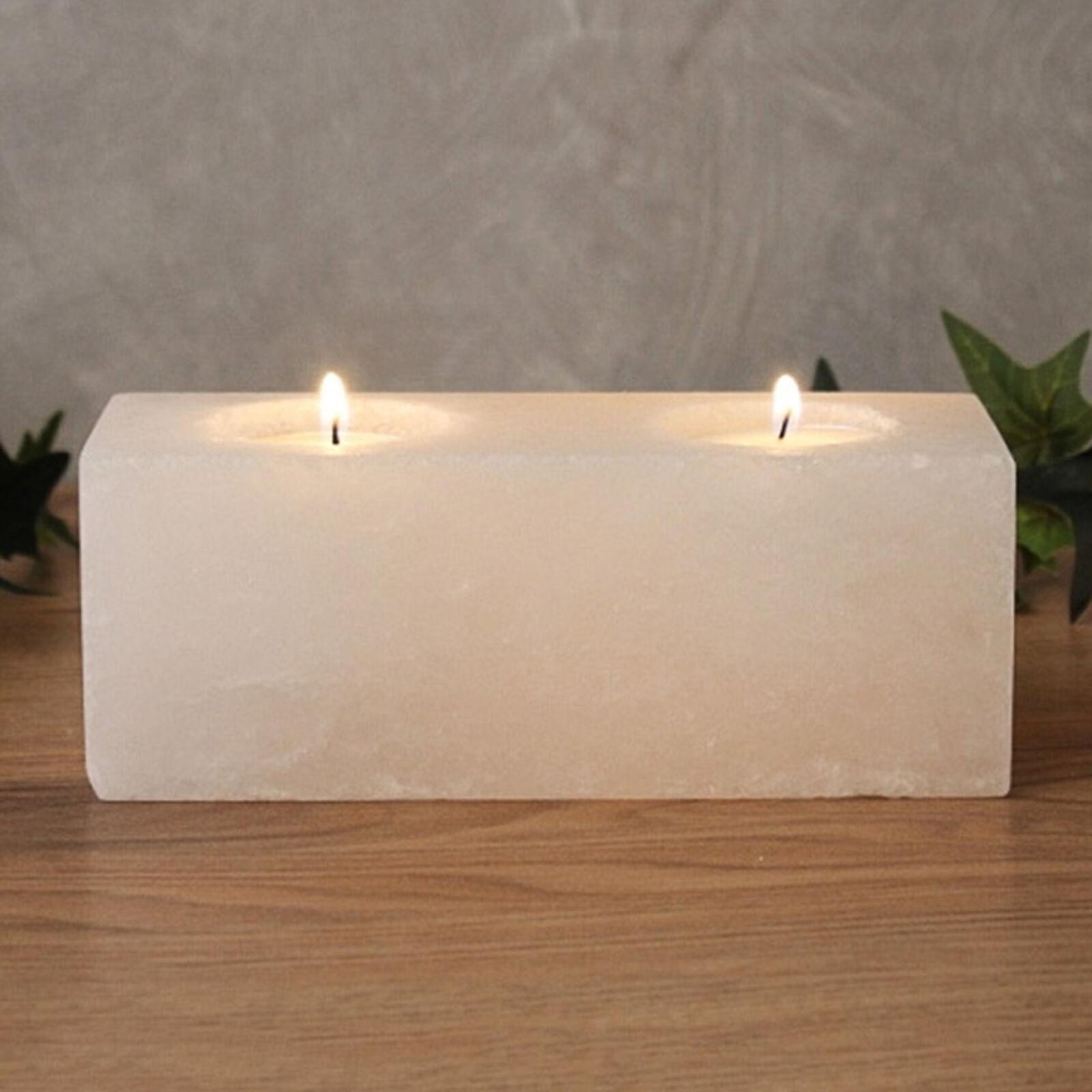 Wagner Life Twin Cube White Line tea light holder