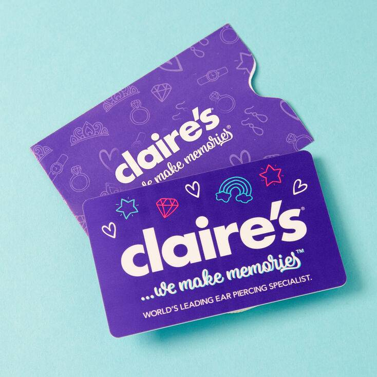 Claire's £50 Gift Card