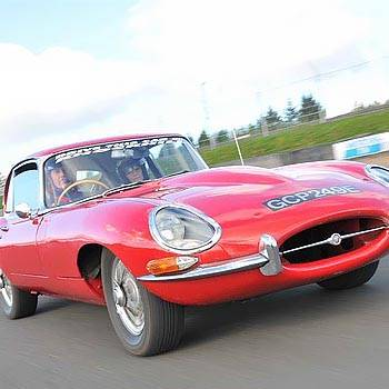 intotheblue.co.uk E-Type Experience in Scotland