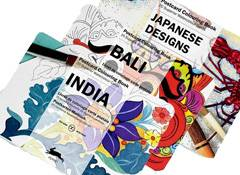 Pepin Press: Sets of Colouring Postcards