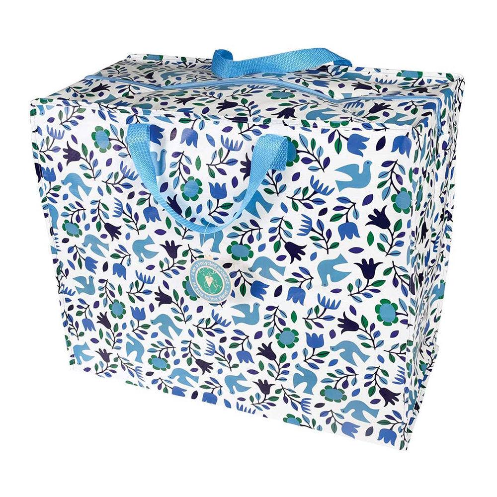 Rex London Jumbo Storage Bag - Folk Doves