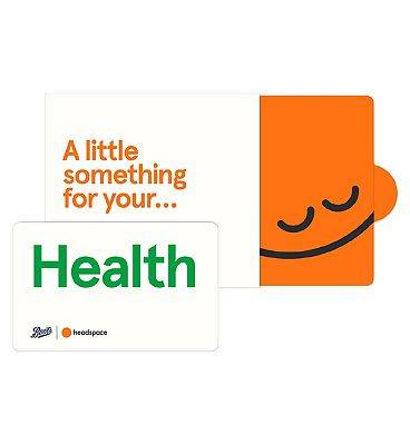 Headspace Health Giftcard - 6 months Pre-Paid Membership