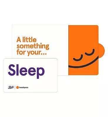 Headspace Sleep Giftcard - 6 months Pre-Paid Membership