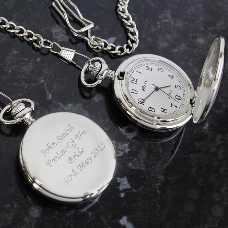 Personalised Memento Personalised Pocket Watch