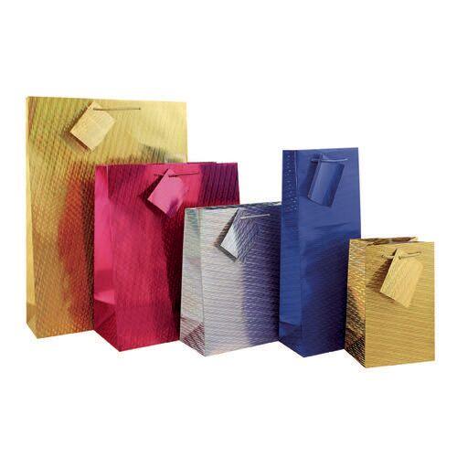 Unbranded Holographic Bottle Gift Bag (Pack of 12) FUNK4
