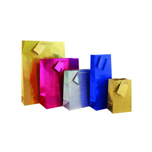 Unbranded Holographic Gift Bag Extra Large (Pack of 12) FUNK1