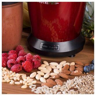 Salter EK2002V2 NutriPro Multi Purpose Nutrient Extractor Blender Red