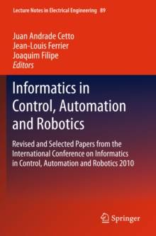 Vienna Acoustics Informatics in Control, Automation and Robotics : Revised and Selected Papers from the International Conference on Informatics in Control, Automation and Robotics 2010