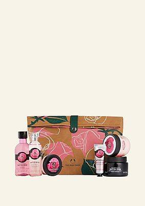 The Body Shop Glowing British Rose Ultimate Gift Pouch Glowing British Rose Ultimate Gift Pouch