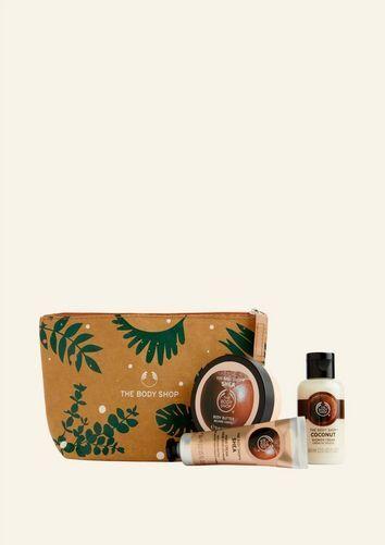 The Body Shop Nourishing Shea & Coconut Gift Pouch Nourishing Shea & Coconut Gift Pouch