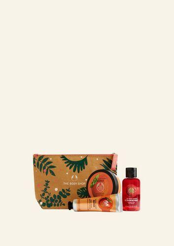 The Body Shop Sweet Mango & Strawberry Gift Pouch Sweet Mango & Strawberry Gift Pouch