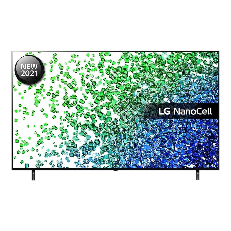 LG Nano80 NanoCell 55 Inch LED 4K Ultra HD HDR Freeview Play and Freesat HD Smart TV