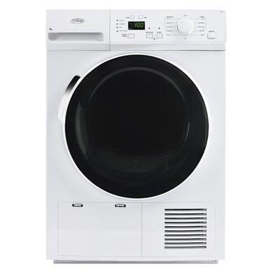 Belling FCD800 8kg Freestanding Condenser Tumble Dryer - White