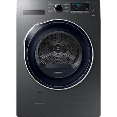 Samsung DV90K6000CX 9kg Freestanding Heat Pump Tumble Dryer - Graphite