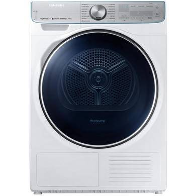 Samsung DV90N8289AW QuickDrive 9kg Freestanding Heat Pump Tumble Dryer With Optimal Dry - White With