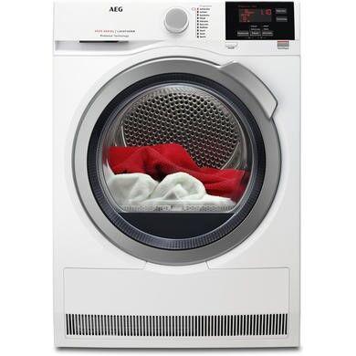 AEG T6DBG822N 8kg Freestanding Condenser Tumble Dryer-White