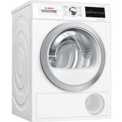 Bosch WTW85493GB Serie 6 8kg Freestanding Heat Pump Tumble Dryer White
