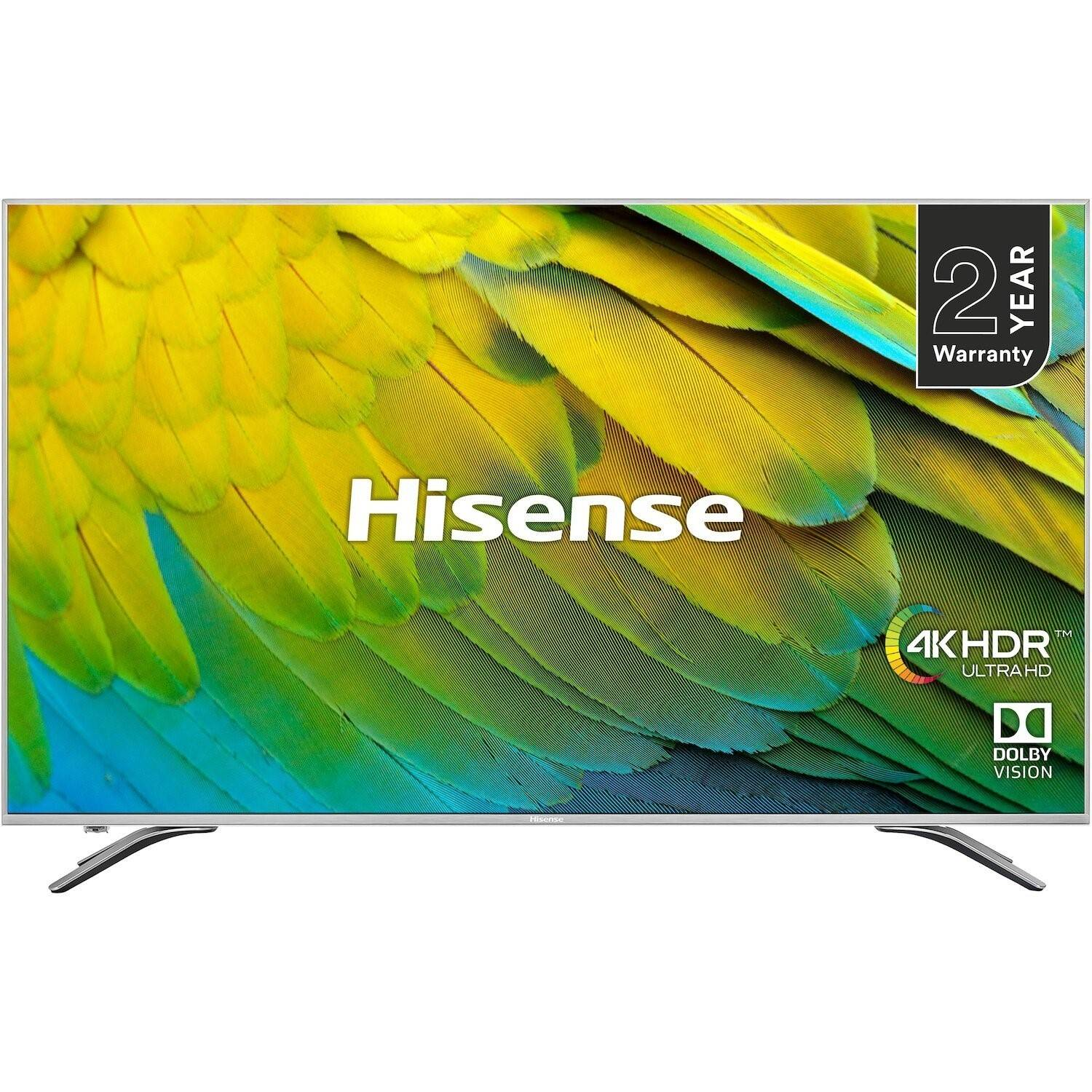 Hisense Refurbished Hisense 75 4K Ultra HD with HDR10 LED Freeview Play Smart TV without Stand