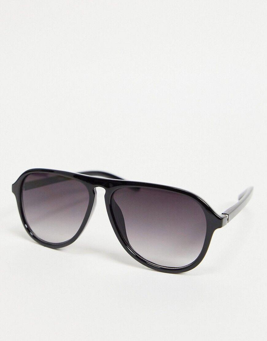 Madein. chunky frame aviators-Black  - Black - Size: No Size