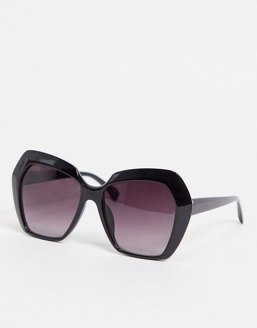 Madein. oversized sunglasses-Black  - Black - Size: No Size