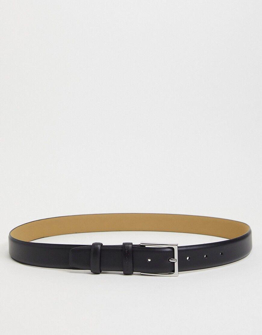 Ben Sherman double keeper belt-Black  - Black - Size: Medium