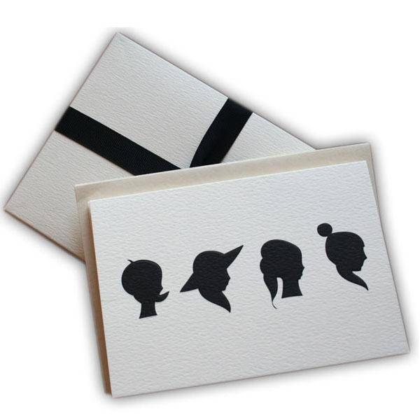 Black.co.uk A Girl for All Seasons Notecards - Pack of 8