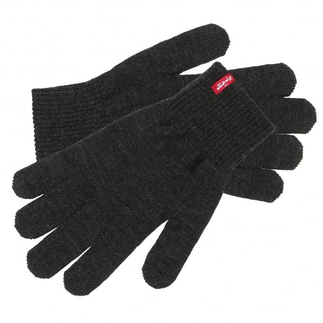 Levi's Dark Grey Touch Screen Gloves