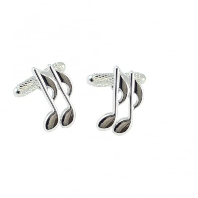 Quavers Music Note Novelty Cufflinks