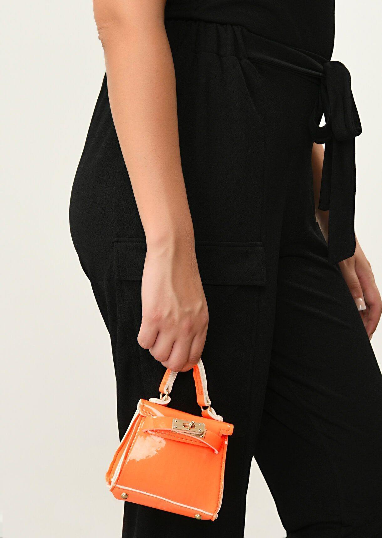 Impulse Fashion Accessories/ Gabby's Jewellery Orange Neon Croc Mini Bag